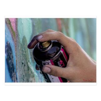 Graffiti 002 postcard
