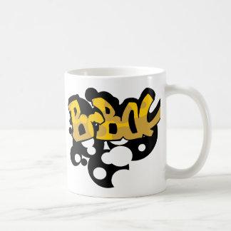 graffiti_072c111606 BBOY BOY DANCE MUSIC BEATS GRA Basic White Mug