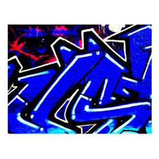 Graffiti 13 postcard