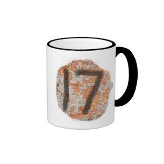 Graffiti 17th Birthday Gifts Ringer Mug