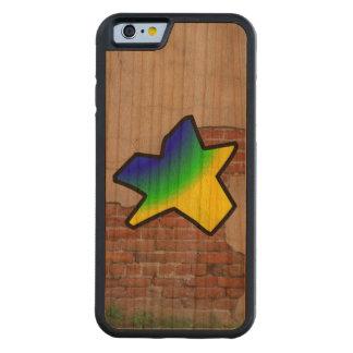GRAFFITI #1 STAR CARVED® CHERRY iPhone 6 BUMPER CASE
