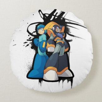Graffiti 2 round cushion