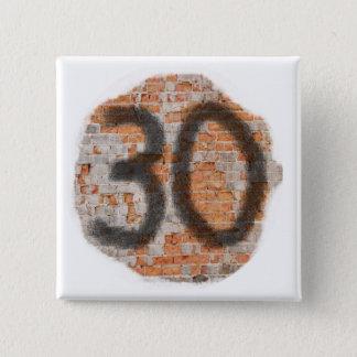 Graffiti 30th Birthday Gifts 15 Cm Square Badge