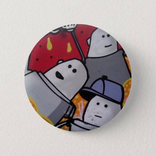 Graffiti 6 Cm Round Badge