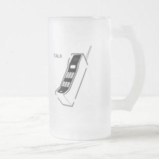 Graffiti 80s Cellphone Coffee Mugs