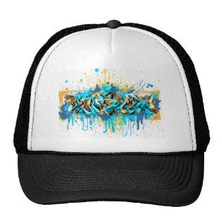 Graffiti A-Series Baseball Cap Mesh Hats