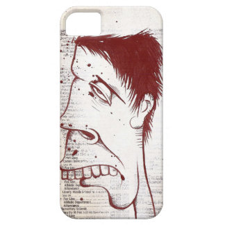 Graffiti acrylic painting on news print for Iphone iPhone 5 Cases