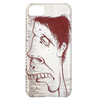 Graffiti acrylic painting on news print for Iphone iPhone 5C Case