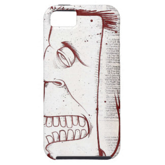 Graffiti acrylic painting on news print for Iphone Case For The iPhone 5