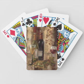 Graffiti and Wine Bicycle Playing Cards