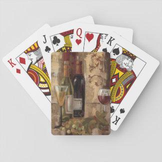 Graffiti and Wine Poker Deck