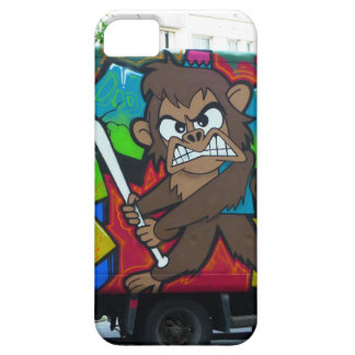 graffiti angry monkey iPhone cover