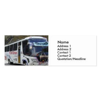 Graffiti Art Bus Pack Of Skinny Business Cards