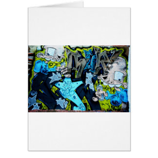 Graffiti Art Card