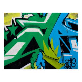 graffiti Art Designs Postcard