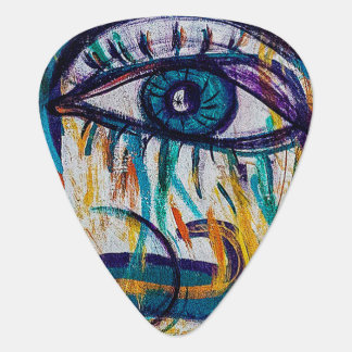 Graffiti Art Guitar Pick