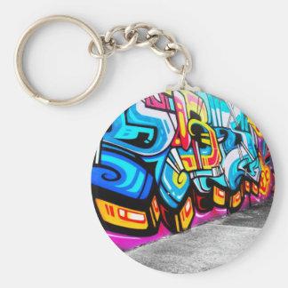 Graffiti art key ring