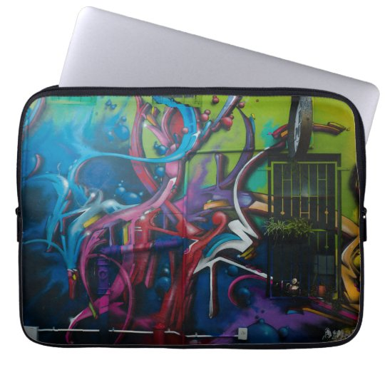 Graffiti Art lap top case. Laptop Computer Sleeve