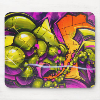 Graffiti Art Mouse Pad