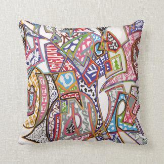 Graffiti Art Pillow