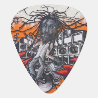 Graffiti Art Plectrum