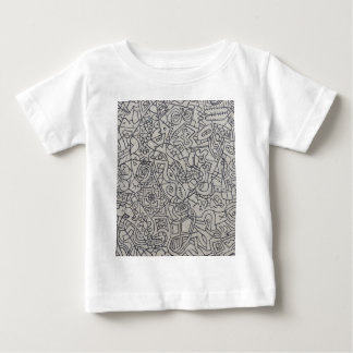 Graffiti Artwork Line Work Baby T-Shirt