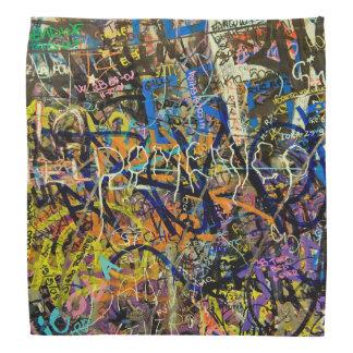Graffiti Background Bandana