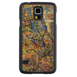 Graffiti Background Maple Galaxy S5 Slim Case