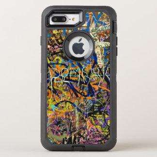 Graffiti Background OtterBox Defender iPhone 8 Plus/7 Plus Case