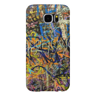Graffiti Background Samsung Galaxy S6 Cases