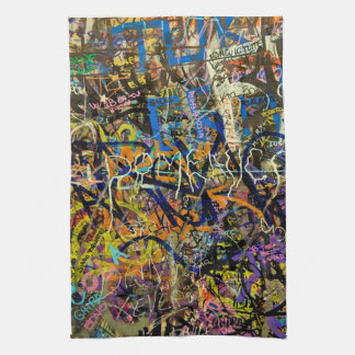 Graffiti Background Tea Towel