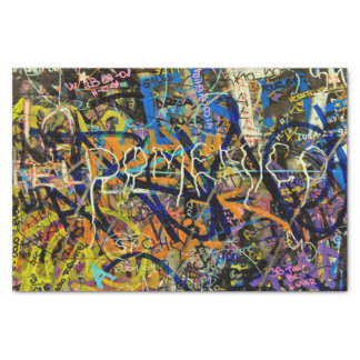 Graffiti Background Tissue Paper
