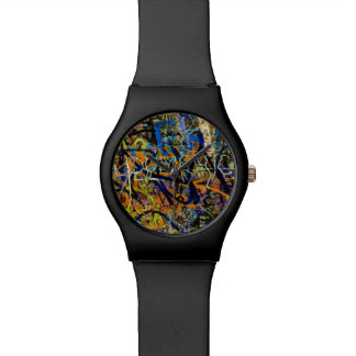 Graffiti Background Watch