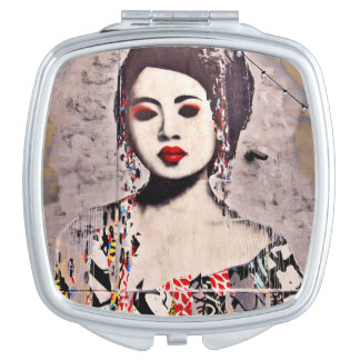 Graffiti Beautiful Compact Mirror