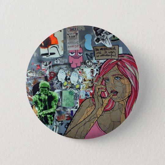 Graffiti, Berlin, Germany 6 Cm Round Badge