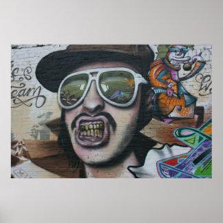Graffiti, Berlin, Germany Poster