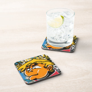 Graffiti boy coaster