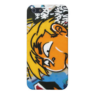 Graffiti boy iPhone 5 covers