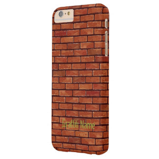 Graffiti Brick Wall Template Barely There iPhone 6 Plus Case