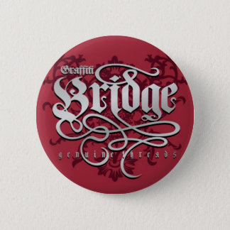 Graffiti Bridge Genuine Threads 6 Cm Round Badge