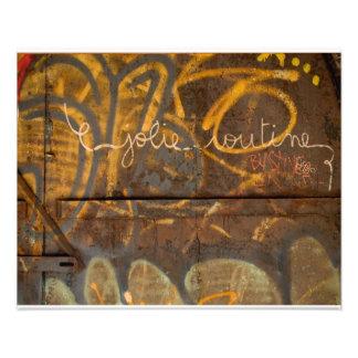 Graffiti- Brooklyn NYC Photo