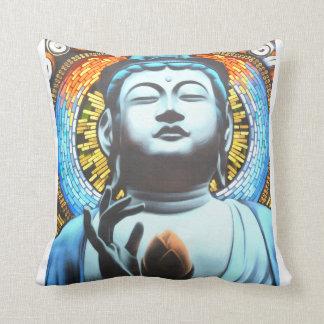 Graffiti Buddha Cushion