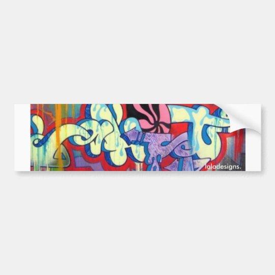 Graffiti Bumper Sticker