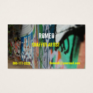 Graffiti Business Card