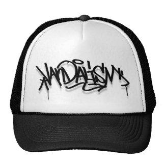 Graffiti cap mesh hat