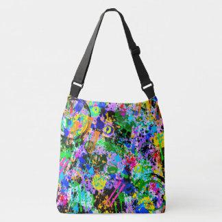 Graffiti Carnival Crossbody Bag