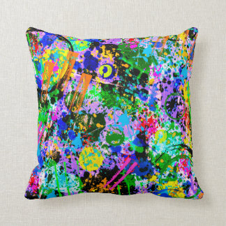 Graffiti Carnival Cushion