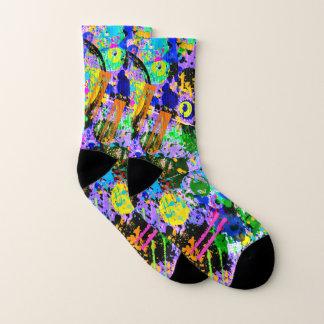 Graffiti Carnival Socks