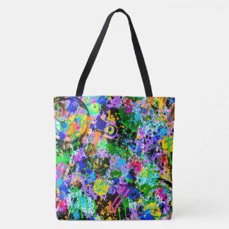 Graffiti Carnival Tote Bag