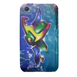 Graffiti iPhone 3 Case-Mate Cases